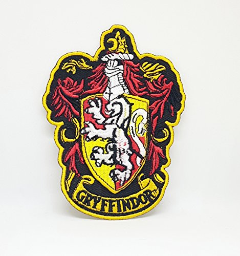 Parche bordado Harry Potter Gryffindor escudo coser