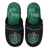 Cinereplicas Harry Potter Hausschuhe - Cuff Clog - Pillow Walk - Premium dauerhafte Qualität - Erwachsene (M/L, Slytherin)