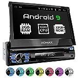 XOMAX XM-DA708 Autoradio avec Android 9.0, Quad Core, 2 GB RAM, 32 GB ROM I...