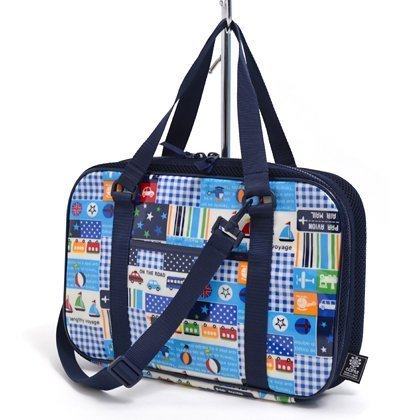 Being shaken Kids calligraphy, calligraphy bags rated on style in vehicle (only bag) Happy Travel (navy) made in Japan N2202500 (japan import)