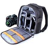 DURAGADGET Sac � dos en Nylon et r�sistant � l'eau pour appareils photos Nikon D5000, D5100, D3100, D600, D800, D3200, Coolpix L330, D5300, D3300 + prot�ge pluie BONUS
