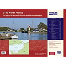 Imray Chart Atlas 2110: North France - Nord-Pas-de-Calais, Picardy and Normandy Coasts (2000 Series)