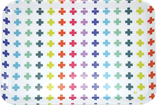 incidence-paris-22260-technicolor-plateau-motif-croix-mlamine-multicolore-305-x-22-x-15-cm-petit-mod