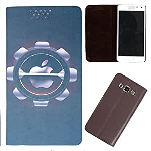 DooDa - For Sony Xperia Z3 PU Leather Designer Fashionable Fancy Flip Case Cover Pouch With Smooth Inner Velvet