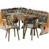 5 5 4 2185 k cheneckbank eckbank eiche rustikal k chenbank stoff velours. Black Bedroom Furniture Sets. Home Design Ideas