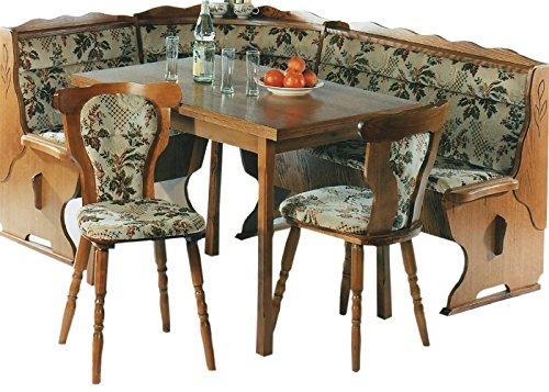 eckbaenke rustikal LIEFERUNG in die WOHNUNG - 5.5.4.6.2534: Kücheneckbankgruppe - Eckbankgruppe - Eiche rustikal P43 - Eckbank - ausziebarer Tisch - 2 Stühle