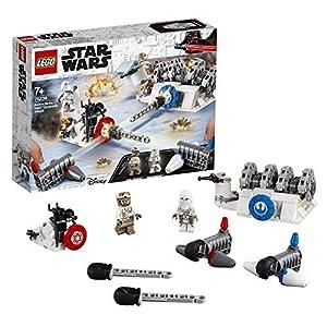 LEGO Star Wars - Action Battle: Ataque al Generador de Hoth, Juguete de Construcción con los Personajes de la Saga de La Guerra de las Galaxias (75239)