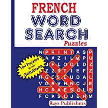 FRENCH Word Search Puzzles