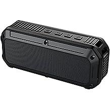AUKEY Altavoz Bluetooth 4.0 al Aire Libre, Altavoz Impermeable y Protección Adicional Contra Caídas y Golpes Inalámbrico Estéreo, Conductor ligero 3W, ...