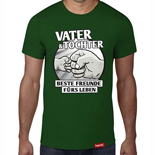 r - Beste Freunde fürs Leben//Original T-Shirt - 16 Farben, XS-4XXL//Männer | Geschenk | Geburtstag | Vatertag | Weihnachten #PAPA Collection Bottle Green M (Schwangere Halloween Ideen)
