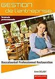 Image de Gestion de l'entreprise Tle professionnelle : Baccalauréat Professionnel Restauration