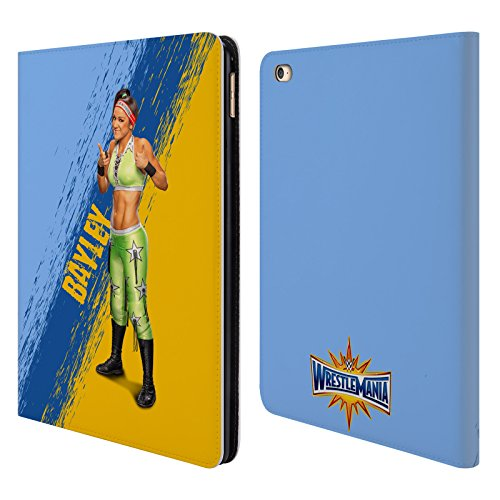 Offizielle WWE Bayley Wrestlemania 33 Brieftasche Handyhülle aus Leder für iPad Air 2 (2014) (Ipad Air 2 Case-hulk)