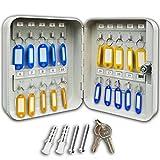 Futura® 20 Schlüsselkasten mit 20 Haken - für die Wandmontage - aus Stahl -...