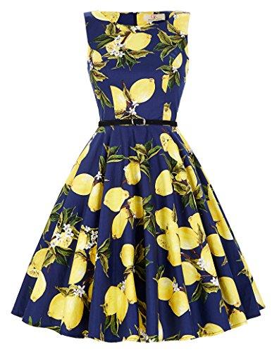 814877074c4 1950er vintage audrey Hepburn kleid schwingen pinup rockabilly kleid  sommerkleid Größe XS CL6086-30