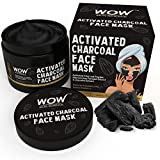 Wow Activated Charcoal Face Mask with PM 2.5 Anti Pollution Shield, 200ml