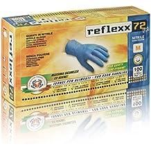 Reflexx R72, Guanti in Nitrile senza Polvere