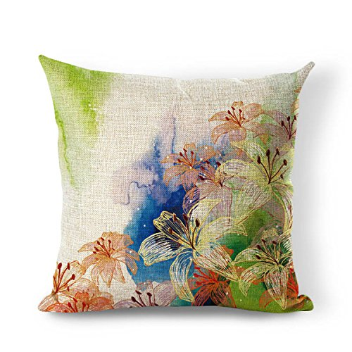 retro-lily-flower-vintage-serie-baumwolle-leinen-quadratisch-kissenbezug-uberwurf-457-cm-zoll