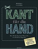 """Kant für die Hand -: Die """"Kritik der reinen Vernunft"""" zum Basteln & Begreifen - Hanno Depner"""