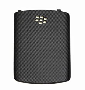 BLACKBERRY GENUINE 9300 CURVE 3G BATTERY BACK COVER -BLACK BY MPAS