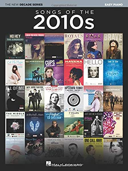 Songs of the 2010s: The New Decade Series: Amazon.co.uk: Hal