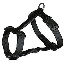 Trixie Classic Dog H-Harness, Medium/Large, Black