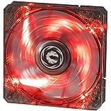 BitFenix Spectre PRO BFF-LPRO-12025R-RP Ventilateur avec LED Rouge pour boitier 120 mm Noir