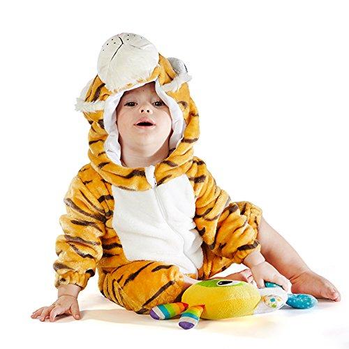 Natural Uniforms Bengal Tiger Costume (3-6 X-Small)