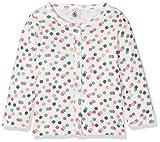 Petit Bateau Baby-Mädchen Strickjacke Cardigan 28779, Mehrfarbig (Marshmallow/Babylone/Multico 58), 68 (Herstellergröße: 6m/67cm)