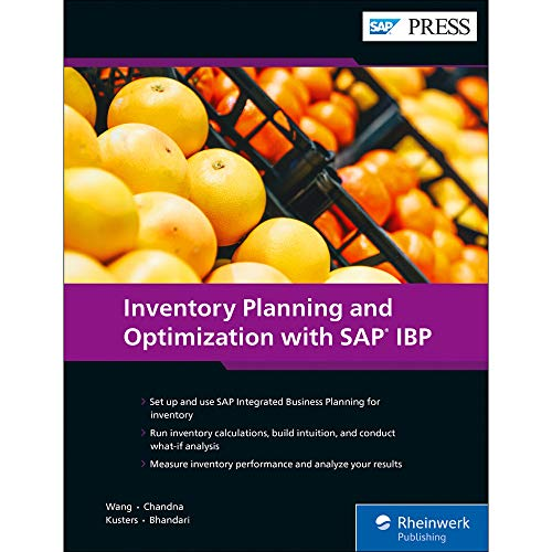 Inventory Planning and Optimization with SAP IBP (SAP PRESS: englisch) - Inventory Business Software