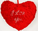 Deals India Musical Soft Red Jumbo Heart...