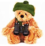 """Charlie Bears. Isabelle Lee Design. Exclusive. """"Goldie, the Birdwatching Bear""""."""