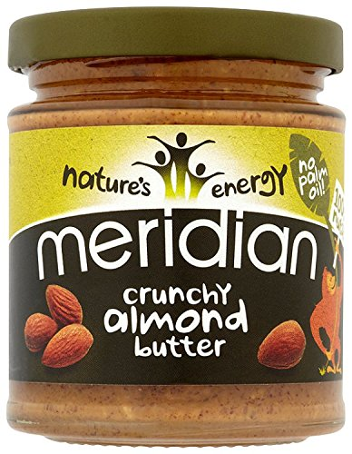 Meridian Natural Crunchy Almond Butter 170 g (Pack of 3) Test