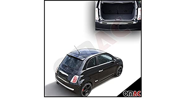 Fiat 500 Hatchback 3 2007 Edelstahl Einstiegsleisten Set Glanz ...