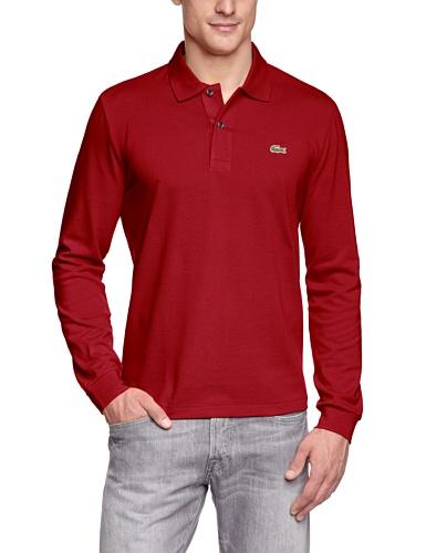 Lacoste Herren Poloshirt L1312 Rot (Bordeaux)