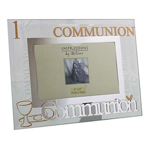 Primera Comunión marco de fotos de espejo palabras Lovely celebración regalo