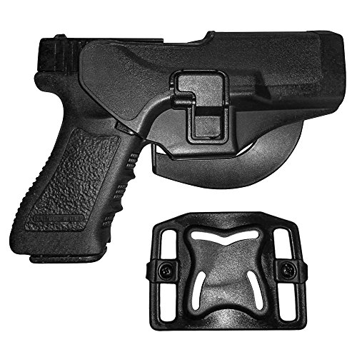 Gürtelholster, Image Tactical Holster Jagd-Gewehr-Halter Schnell Pistolenholster Quick Release Holster Rechte Right Hand Carry Paddle Holster, rechts für Glock 17/22/31 -