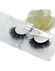 HENGSONG 3D Artificial Hair Faux cils Natural Thick Eye Lashes Maquillage Extension (E)