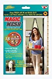 Swarish Magic Mesh Screen Door Net with magnets Anti Insects Mosquito Flies Bugs Curtain