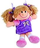 Unbekannt Puppe Zum Selberstopfen Inklusive Faden, Vorlage, Stoff, Plüsch und Füllung · Nähset, Bastelset Kuscheltier Zum Selbermachen (Puppe)
