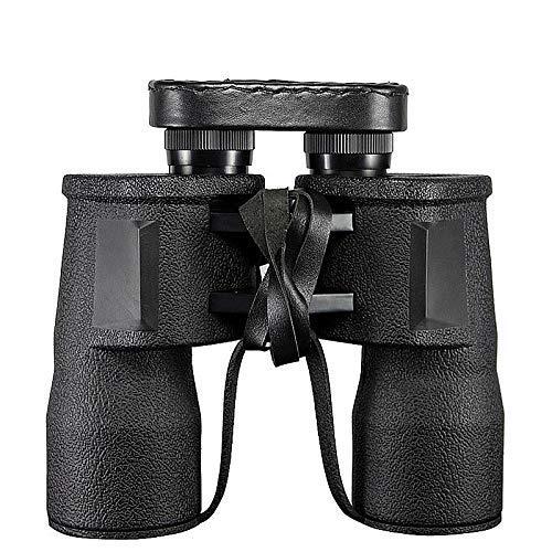 WYJ Hd Langlebiges Hochleistungsfernglas 10X50 Fernglas für Erwachsene mit Bak4 Prisma Fmc Objektiv Beschlagfrei Wasserdicht Großartige Vogelbeobachtungsreise Sternenkonzerte