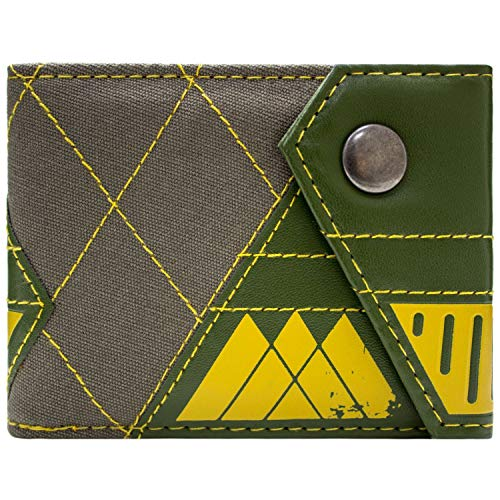 Destiny Hunter-Klasse Geknöpft Grün Portemonnaie Geldbörse