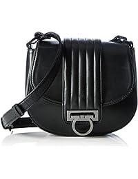 Belmondo 735029 01 - Bolso de hombro para mujer, color Negro, 34x26x11 cm (B x H x T)