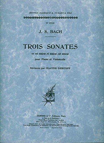 3 Sonates Vc Et Piano (Bwv 1027-1028-1029)
