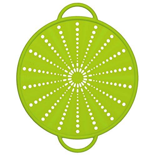 514557 Smart Kitchen silicone splash & splatter guard Ø 26 cm, green