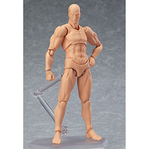 Zantec Modelo de figura de acción para bosquejo pintura,juguetes muñeca para coleccionables,Cuerpo móvil PVC