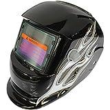 Rosepoem Máscara De Oscurecimiento Automático Solar Máscara De Soldadura Cascos para Soldar, Máscara Oscurecimiento Automático
