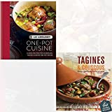 Le Creuset One-pot Cuisine and Tagines and Couscous 2 Books Collection Set With Gift Journal - Classic Recipes for Casseroles, Tagines & Simple One-pot Dishes, Delicious recipes for Moroccan one-pot cooking