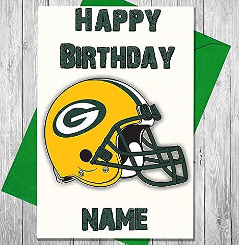 Football américain Green Bay Packers–carte d