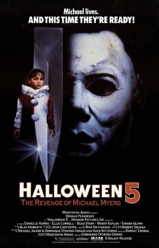 (Halloween 5: The Revenge of Michael Myers Plakat Movie Poster (11 x 17 Inches - 28cm x 44cm) (1989))