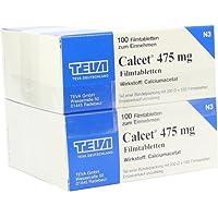 CALCET 475 mg Filmtabletten 200St preisvergleich bei billige-tabletten.eu